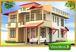 Model plan of house