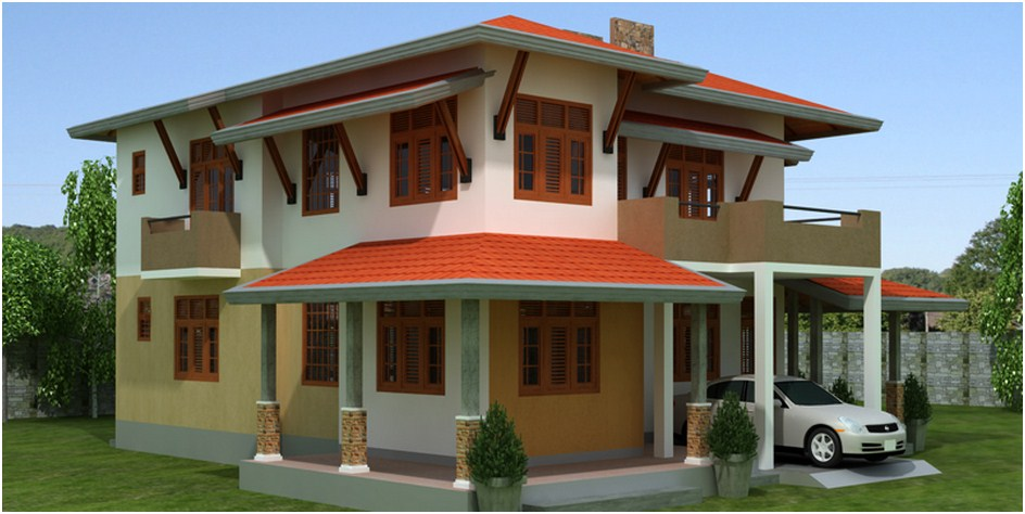 Dafodil plan singco engineering dafodil model house for House plans in sri lanka two story