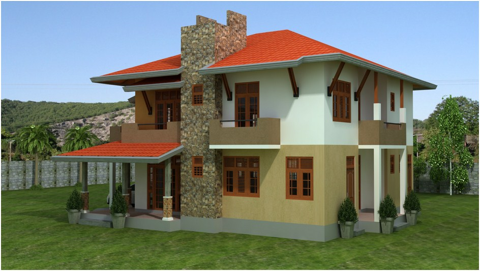 Sri lankan modern house plans for Modern house plans designs in sri lanka