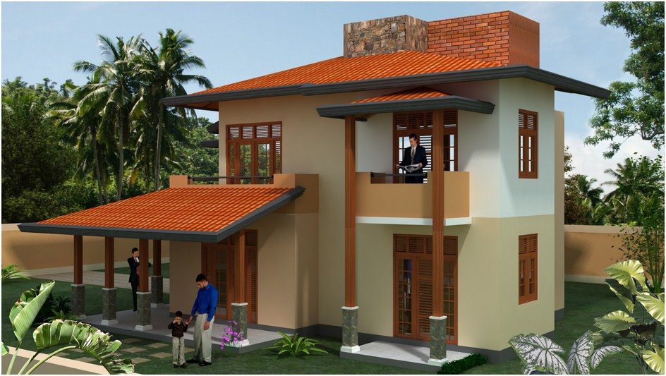 Desi plan singco engineering dafodil model house for Home design in sri lanka