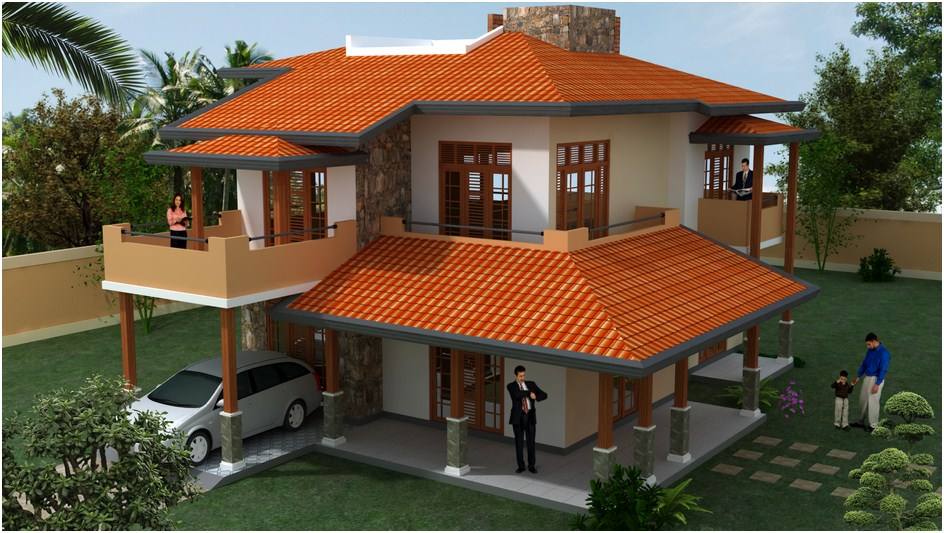 Desi plan singco engineering dafodil model house for Sri lanka modern house photos