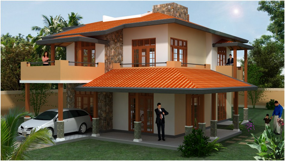 Desi plan singco engineering dafodil model house for House interior designs sri lanka