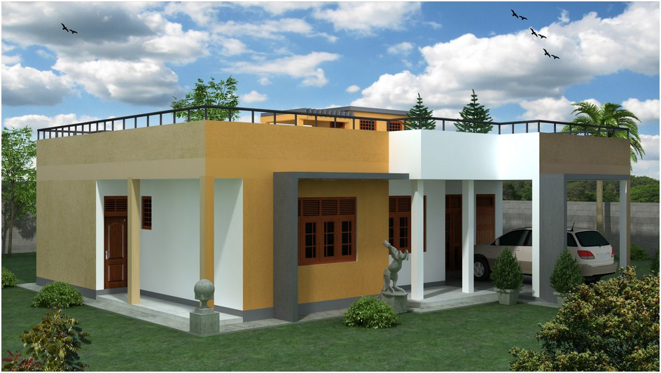 Jasmin plan singco engineering dafodil model house for Modern house plans designs in sri lanka
