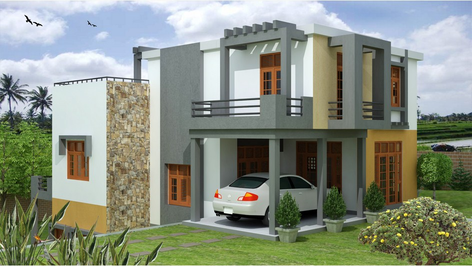 Malabe house plan singco engineering dafodil model house for Modern house plans designs in sri lanka
