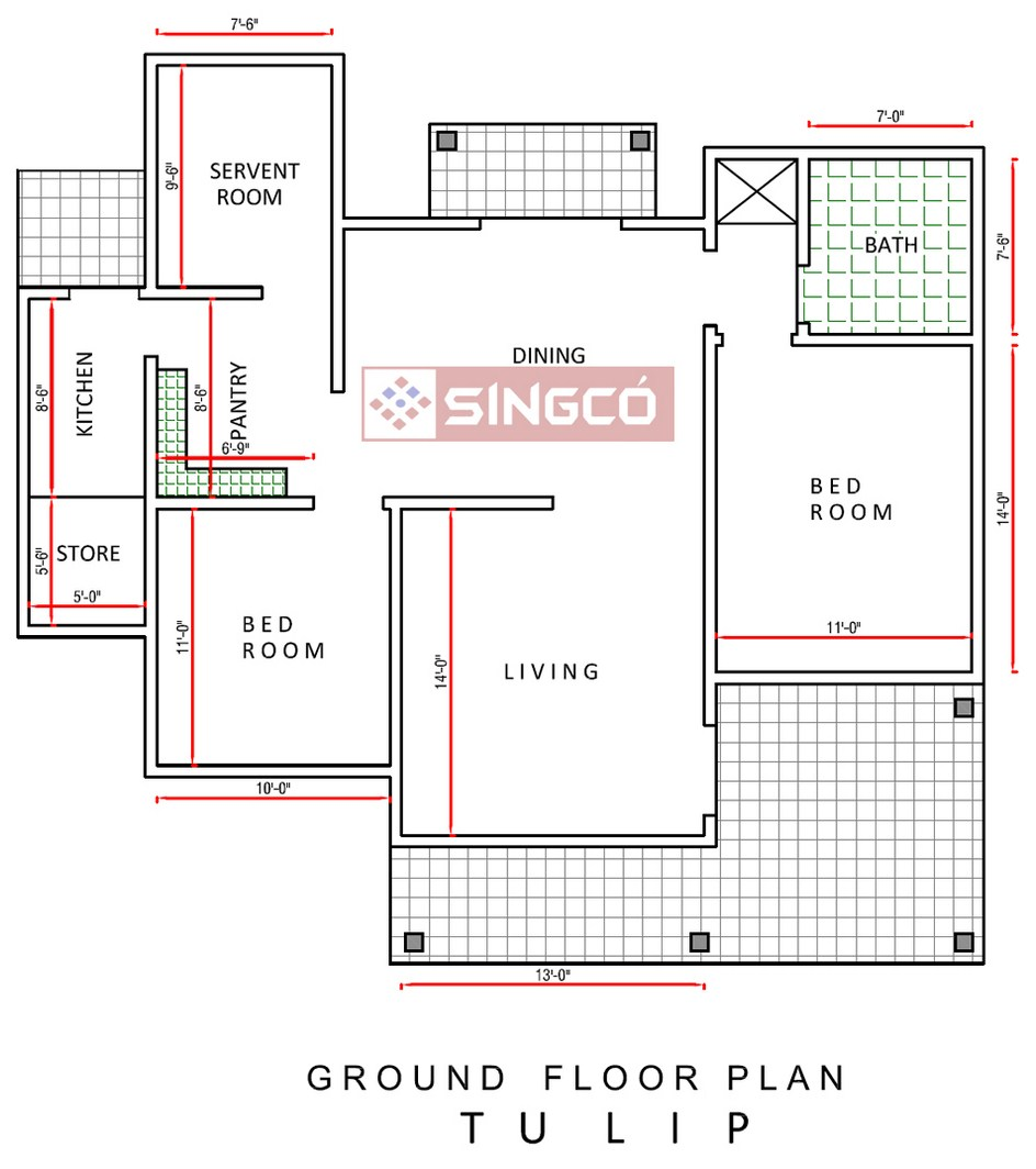 Singco engineering dafodil model house advertising with for Purchase house plans