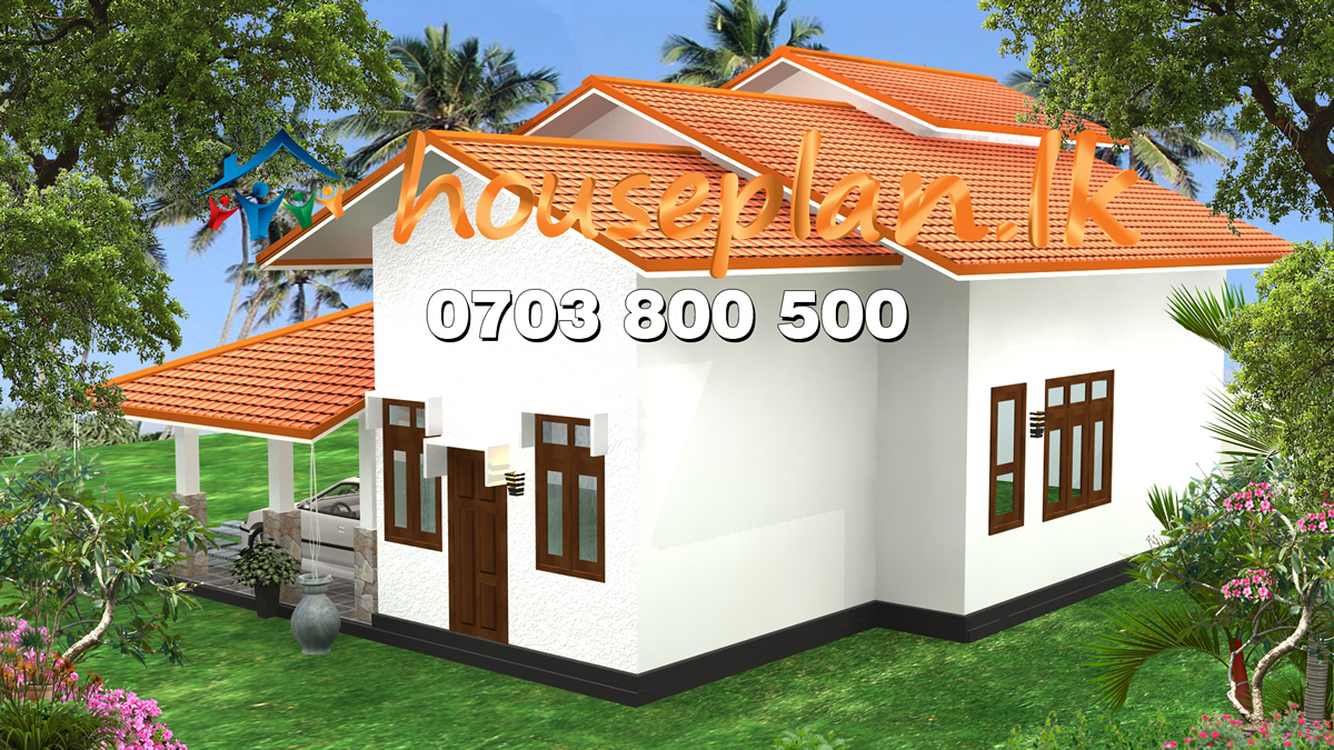 Sri lanka house plan best price of house contruction for Low building cost house plans